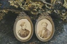 Antique portraits #vintage