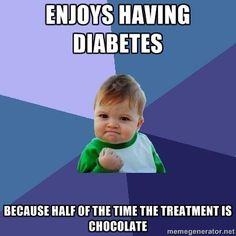 Haha the funny side of my disease!