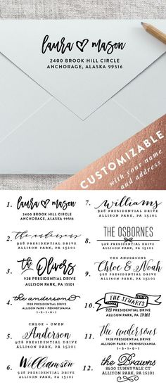 Save Date Cards Typo