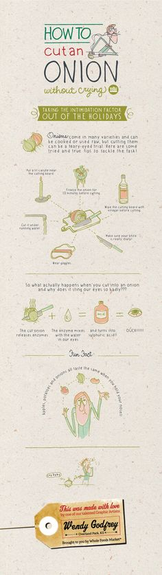 Some mind-blowing facts about onions! #Holiday #infographics
