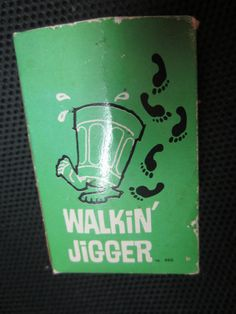 Vintage Walkin' JIGGER 1966 Poynter Product JAPAN by kookykitsch, $12.00