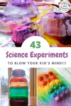 43 of the best science experiments for kids to do! These are such fun science activities perfect for those focusing on STEM learning. These simple and easy science experiments are great to do at home or in the classroom.