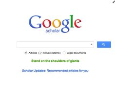 Google Scholar provides a search of scholarly literatures across many disciplines and sources, including theses, books, abstracts and articles.