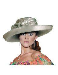 Kentucky Derby Hat with Brim 47100 Sage