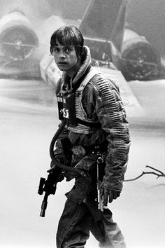 Mark Hamil As Luke Skywalker Star Wars.......