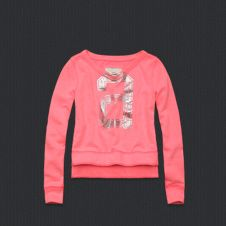 abercrombie girls addison fleece!