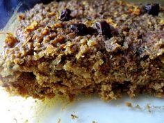 Hope For Healing: Carrot Quinoa Bars (gluten-free, vegan)
