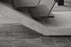 Concrete stair by Small Projects