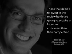 Bill Tancer, Author of Everyone's a Critic - quote from episode #23 of #MassAmplify Show http://massamplify.com http://www.amazon.com/Everyones-Critic-Winning-Customers-Review-Driven/dp/1591846382