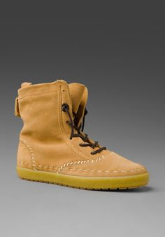 Keds Champion Shearling Boot in Camel