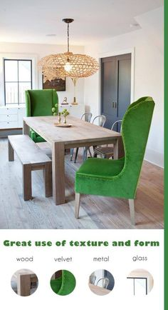 These Chairs For Dining Table Endsmaybe Navy Or Cool Blue