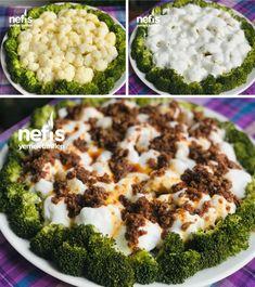 Sevmeyenlere Sevdirecek !! Yoğurtlu Karnabahar Brokoli #sevmeyenleresevdirecekyoğurtlukarnabaharbrokoli #salatatarifleri #nefisyemektarifleri #yemektarifleri #tarifsunum #lezzetlitarifler #lezzet #sunum #sunumönemlidir #tarif #yemek #food #yummy Allrecipes, Broccoli, Mashed Potatoes, Salads, Food And Drink, Diet, Vegetables, Ethnic Recipes, Room