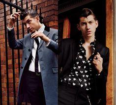 O estilo retrô de Alex Turner, do Arctic Monkeys