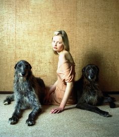 """""""Sister act"""". Photographed by Hellen Van Meene for Tank Magazine S/S 2012"""