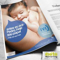 Peça: Anúncio Revista Yacht Cliente: IVI Reprodução Humana 2013