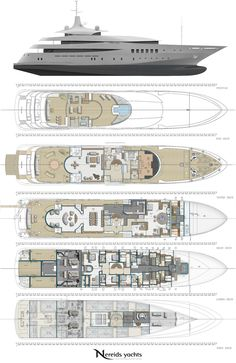 Superyacht Pherousa layout - Image courtesy of Nereids Yachts .jpg (740×1140)