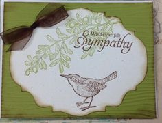 Open Heart Sympathy by skitter - Cards and Paper Crafts at Splitcoaststampers