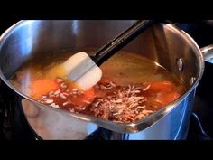 Bean Curd Veggies Soup