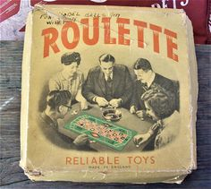 roulette game vintage roulette Reliable Toys Made in
