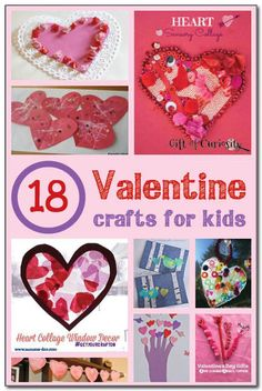 18 Valentine crafts for kids    Gift of Curiosity
