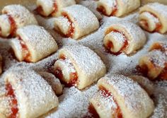 Túrós kifli 🥐(cukor- és tojásmentes) recept foto Cukor, Stevia, Apple Pie, French Toast, Barbie, Pudding, Breakfast, Food, Apple Cobbler