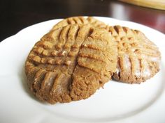 Peanut Butter Cookies are my fav! These have no sugar...even better!!!