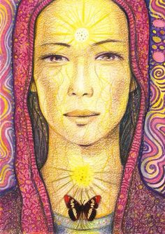 Amaterasu, Goddess of the sun.  - Toni Carmine Salerno Art