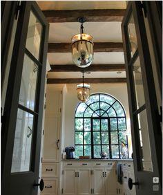 love the windows, doors + lighting