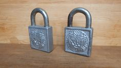 Lion Head Antique Rustic Works Padlock Old Padlock with Key Vintage Lock Antique Padlock Vintage Iron Lock Cottage Chic Industrial Decor by RAGMAN770 on Etsy