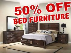 50 PERCENT OFF DISCOUNT Bryce Collection 203471 Bedroom Furniture Set.
