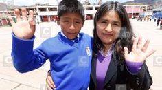 Niño cusqueño que inventó alarma para sismos sueña con conocer al papa Francisco (FOTOS)