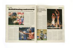 The Journal: Newspaper Redesign by James McNaught, via Behance