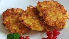 Aardappelkoekjes ofwel 'reibekuchen' of toch rösti? Simpel als bijgerecht met een klodder zure room! Lekker en snel!