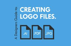 Once a logo has been designed it's important that the designer prepares the files to ensure the design looks good. This guide explains the files needed and why.