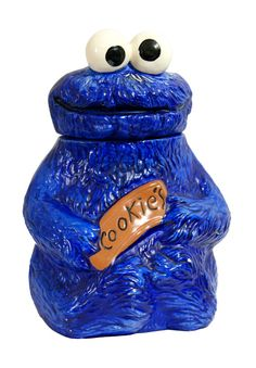 Hey, I found this really awesome Etsy listing at https://www.etsy.com/listing/180437905/vintage-cookie-monster-cookie-jar-rare