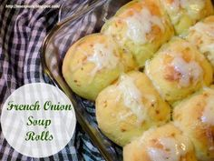 Ms. enPlace: French Onion Soup Rolls