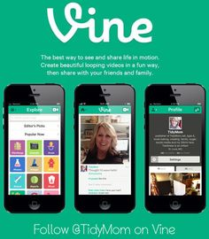 Learn about Twitter's new Vine app where you can share 6 second video clips