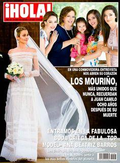 En ¡HOLA!, entramos en la «gran boda griega» de Ana Beatriz Barros con el empresario Karim el Chiaty