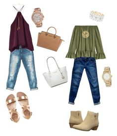 Untitled #2 by dhymundmonet on Polyvore featuring polyvore, fashion, style, Sans Souci, Abercrombie & Fitch, Cole Haan, Michael Kors, DKNY, Charlotte Russe, Bølo and clothing