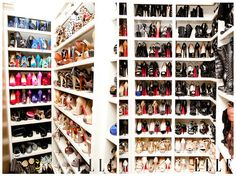 One day... I will have a closet solely devoted to my shoes :)