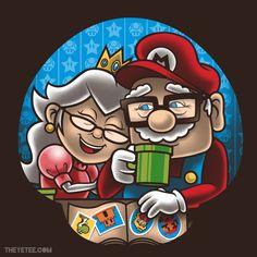 Princess Peach Mario Love Art