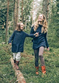 Oppskrifter - Alle gratisoppskrifter - Genser - Dame - Strikke - Norsk - Sandnes Garn Knitting For Kids, Crochet For Kids, Tweed, Minimalist Lifestyle, Girls Sweaters, Knitting Patterns, Knitting Ideas, Crochet Yarn, Knitwear