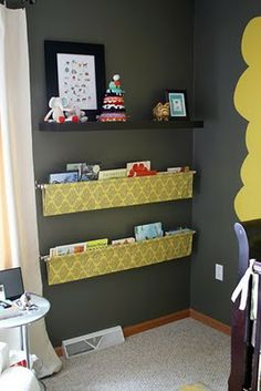 Book slings - fun for a kid's room