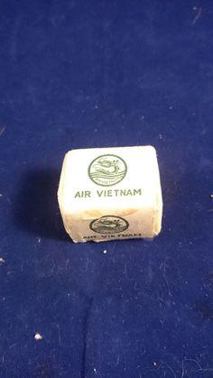 Air Vietnam Sugar Cubes Airlines Travel Vintage Rare