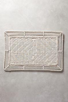 handwoven doormat #anthroregistry #hamptonsstyle #anthropologie