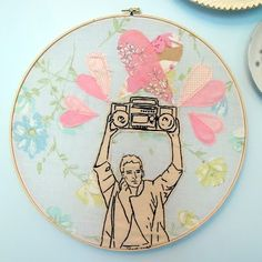 Fantastic embroidery by Lucky Jackson. (OMG!  I need this!)