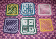 Barbaridade: Interlocking Crochet - Crochet Entreleçado