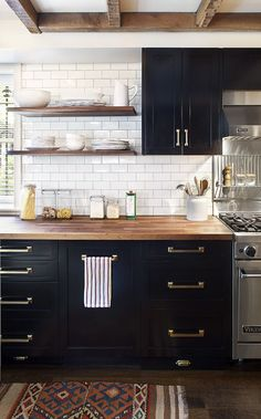Whole House Remodel  Married With Children  Kitchen  Dc Metro Glamorous Black And White Kitchen Designs Review