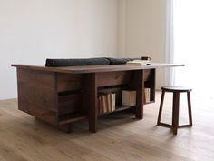 HIRASHIMA CARAMELLA Counter Sofa | Sumally - great idea for mini desk/laptop area in living room