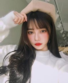 Image about girl in Fashion by ♕ 𝕊𝕒𝕓𝕒 ♕ on We Heart It Pretty Korean Girls, Cute Korean Girl, Asian Girl, Korean Makeup Look, Korean Beauty, Asian Beauty, Ulzzang Hair, Ulzzang Korean Girl, Korean Girl Photo